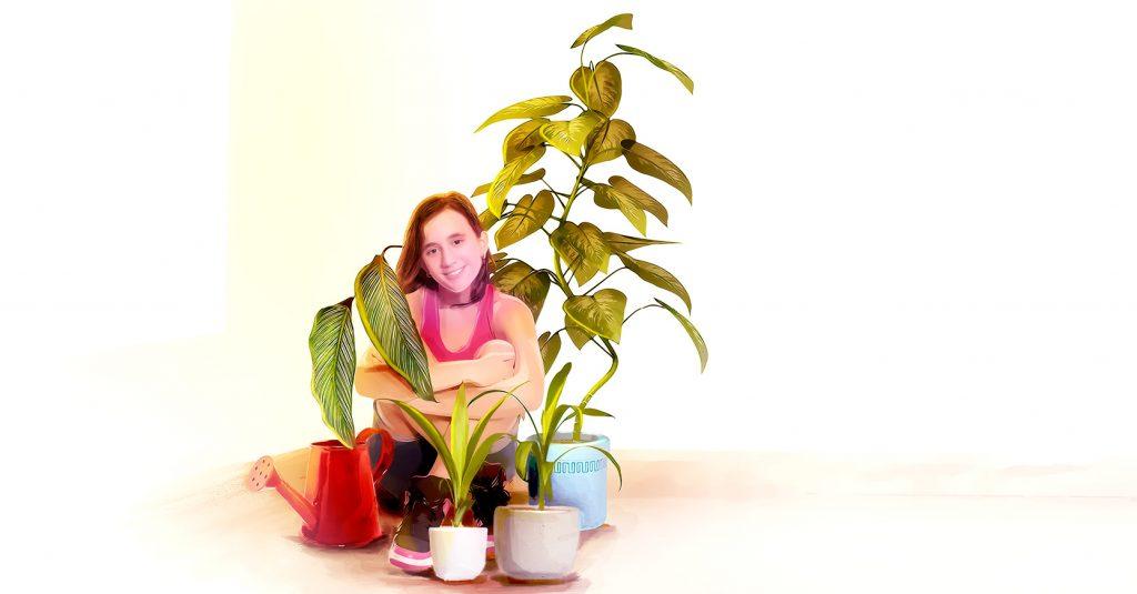 El paisajista Daniel Gómez Bilbao propone tener plantas en casa