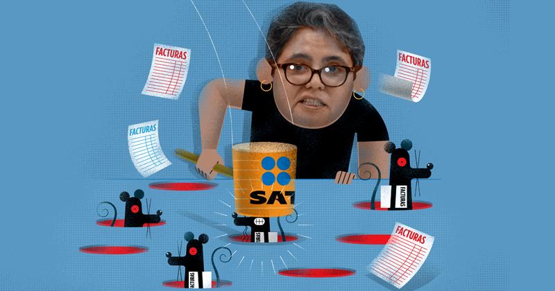 El Servicio de Administración Tributaria (SAT) va detrás de empresas factureras
