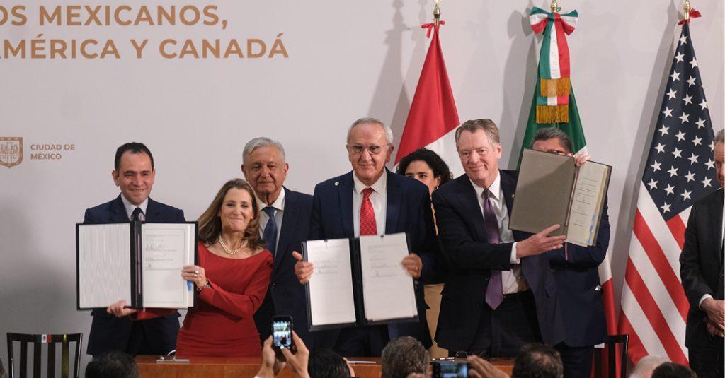 Morena en el Congreso busca un periodo extraordinario para aprobar las leyes reglamentarias del T-MEC