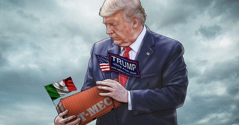 Andrés Manuel López Obrador, y de Estados Unidos, Donald Trump, parecen tener una relación bilateral complicada