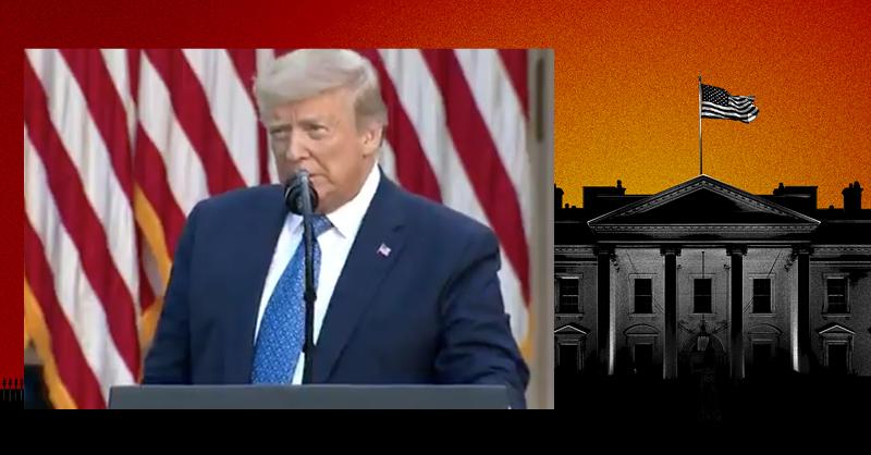 Las movilizaciones sociales contra el racismo se suman a la emergencia sanitaria que golpea la popularidad de Trump