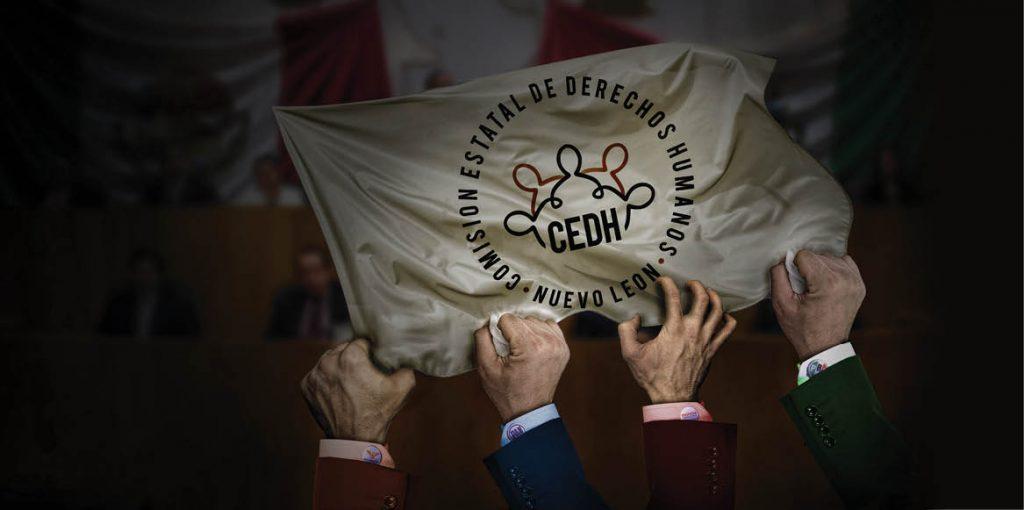 El Congreso local avanza para nombrar a la nueva presidenta o presidente de la CEDHNL