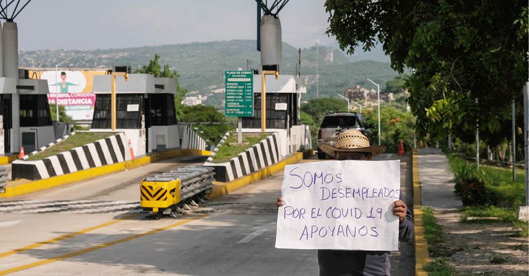 A raíz de la pandemia de COVID-19 se han perdido millones de empleos en México.
