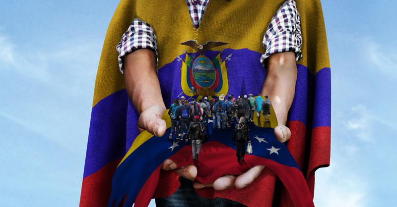 Miles de venezolanos llegan a Ecuador con la esperanza de iniciar una nueva vida