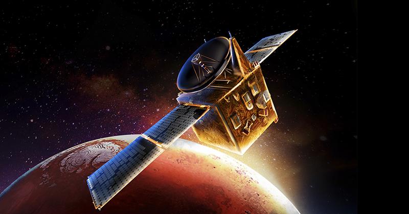 Marte, un planeta que ahora será analizado por los Emiratos Árabes Unidos