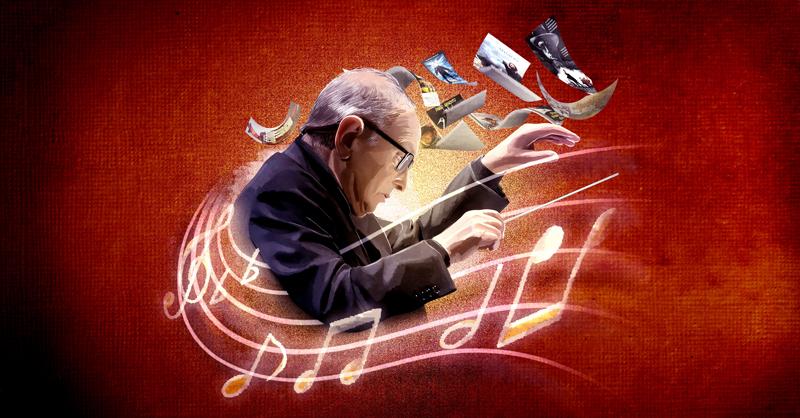 Ennio Morricone, quien nació en Roma, Italia, el 10 de noviembre de 1928 y falleció ayer a los 91 años de edad