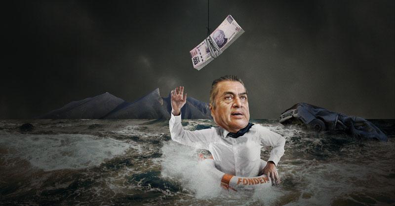 aime Rodríguez tendrá que subsanar los daños a consecuencia de las lluvias por la tormenta tropical Hanna con recursos del Fonden