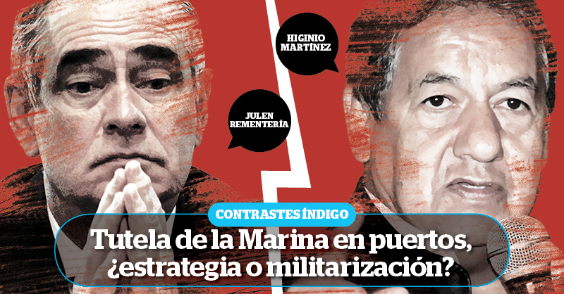 Andrés Manuel López Obrador anunció que, para combatir al crimen organizado, los puertos del país serían gestionados por la Marina