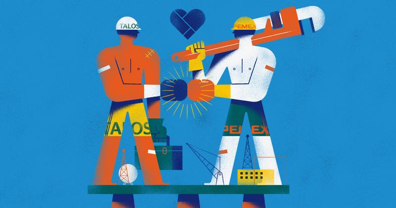 El control del yacimiento Zama pasará por una intensa negociación, ya que Pemex y Talos Energy deberán llegar a un acuerdo