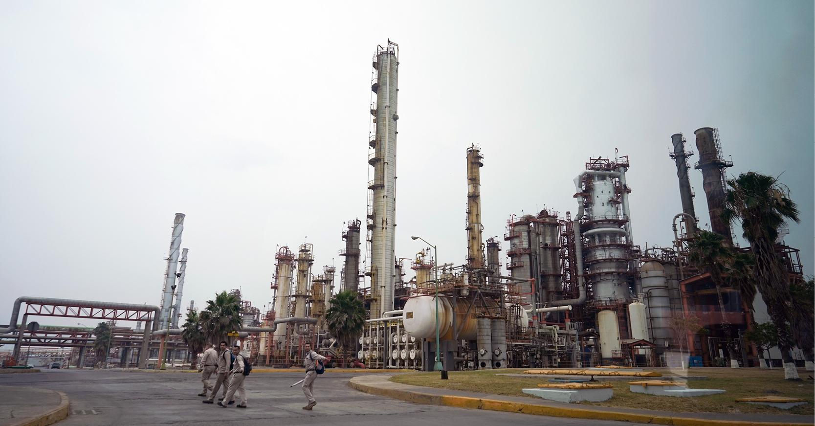 Se sabía desde hace tiempo que el azufre de la refinería de Pemex que está en Cadereyta es fuente de contaminación