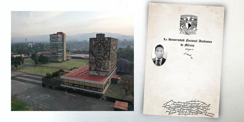 Suspensión que la UNAM realizó a los trámites de titulación