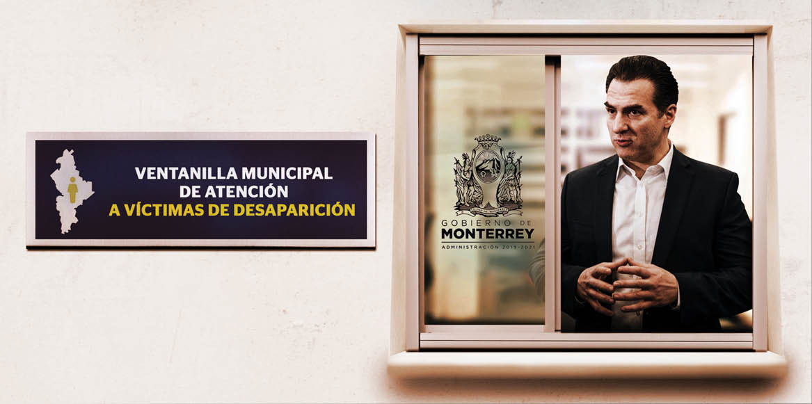 Adrián de la Garza, ha entregado 70 apoyos a 25 familias en las ventanillas municipales de atención a víctimas de desaparición