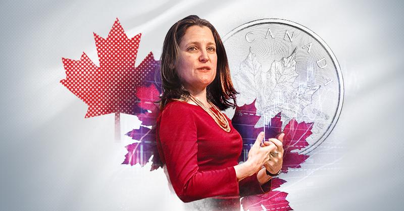 Chrystia Freeland es la primera mujer en asumir el cargo como ministra de Finanzas de Canadá
