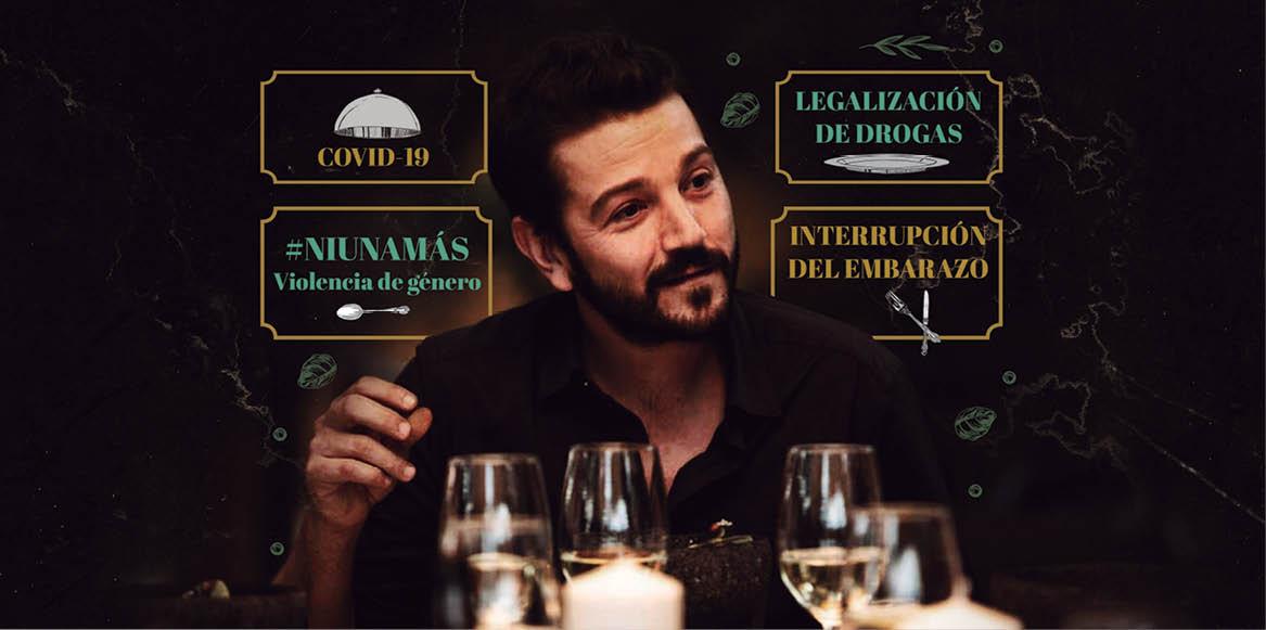 Diego Luna participa como moderador en su propia serie de Amazon
