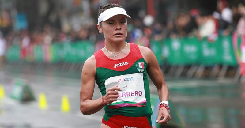La marchista Ilse Guerrero no baja el ritmo rumbo a los Juegos Olímpicos