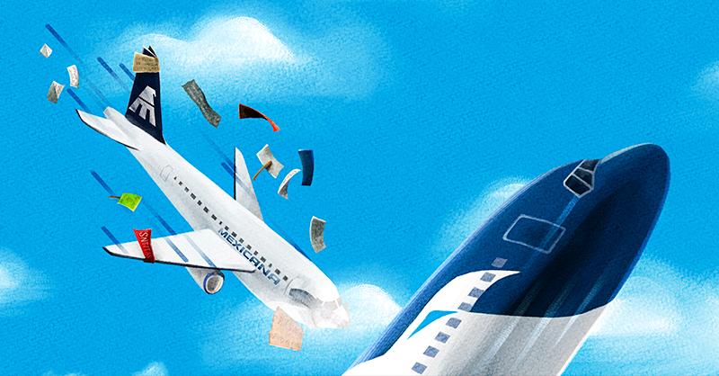 Hace una década las operaciones de Mexicana de Aviación se suspendieron