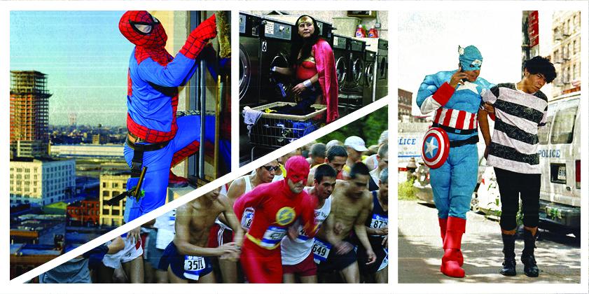 La serie fotográfica La Verdadera Historia de los Superhéroes, de Dulce Pinzón