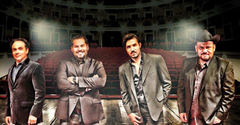 Sinaloenses de Cuidado es una agrupación integrada por cuatro artistas de la ópera