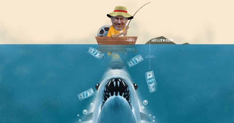 Steven Spielberg convirtió a Tiburón en un éxito de la pantalla grande