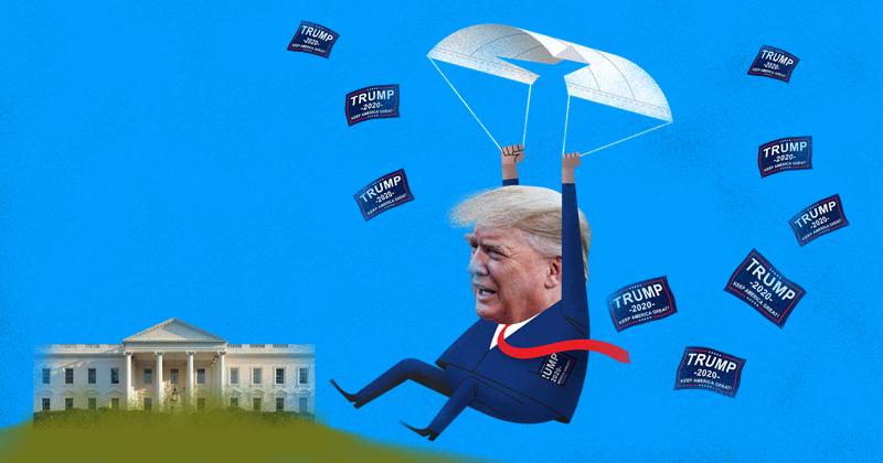 Donald Trump va perdiendo popularidad. La aprobación de su gestión va en picada