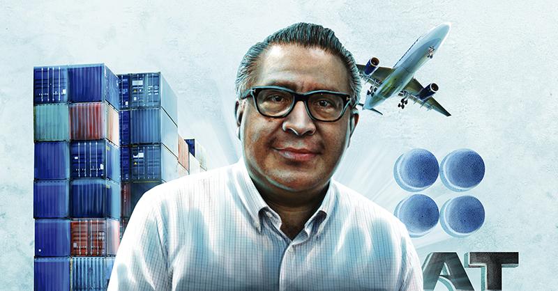 Horacio Duarte Olivares tiene la encomienda de desmantelar las redes de corrupción que operan en las aduanas