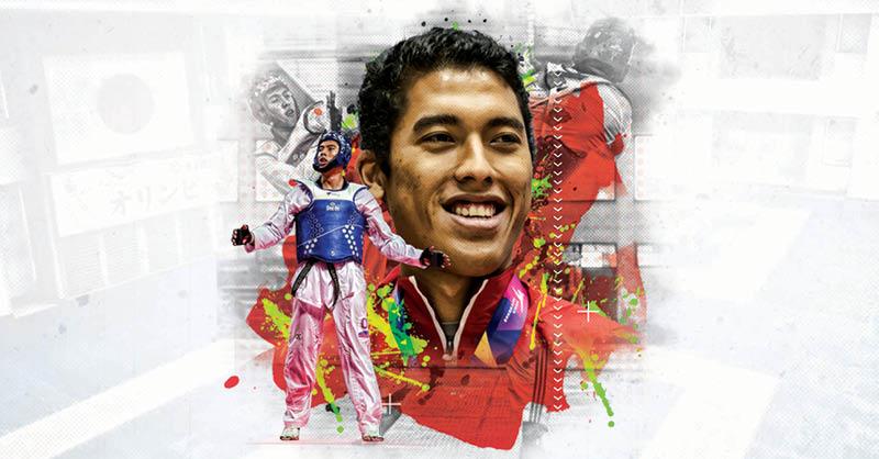 El camino en el deporte llevó a Carlos Sansores al taekwondo