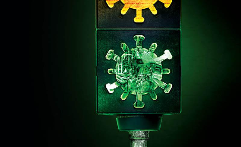 Cuando el semáforo epidemiológico cambie a verde puede ocasionar un incremento en los casos y muertes por COVID-19