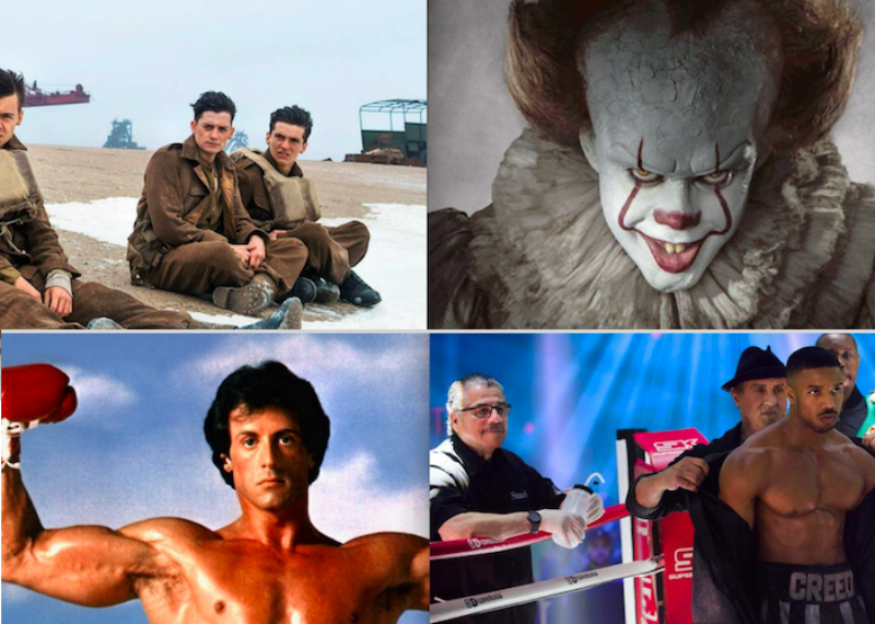 Los estrenos de Netflix para octubre; llegan Rocky, Creed, Dunkerque e IT