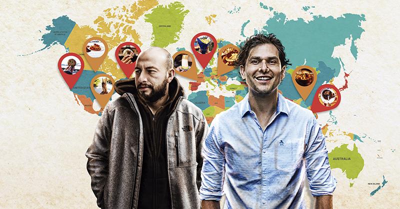 la cuenta de Instagram Gordos x el mundo, Alan Estrada y Manuel Espinoza