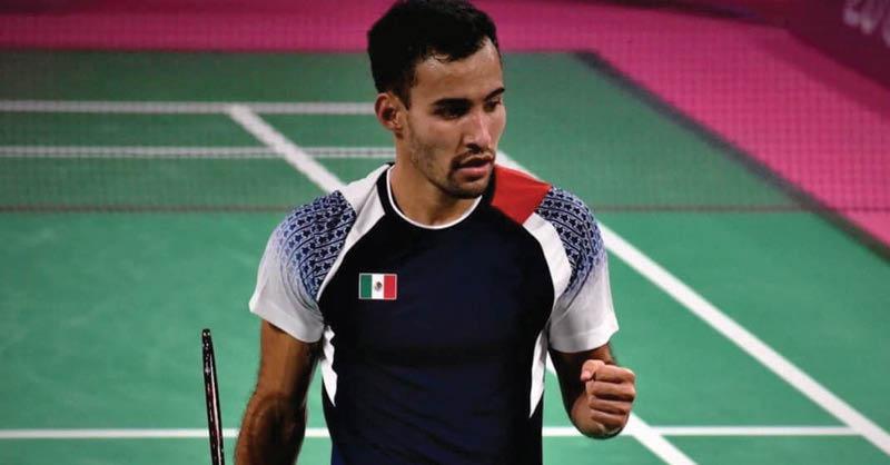 El badmintonista mexicano Lino Muñoz regresa a los entrenamientos