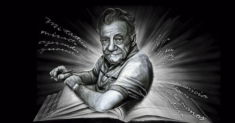 Mario Benedetti habría cumplido hoy 100 años de vida