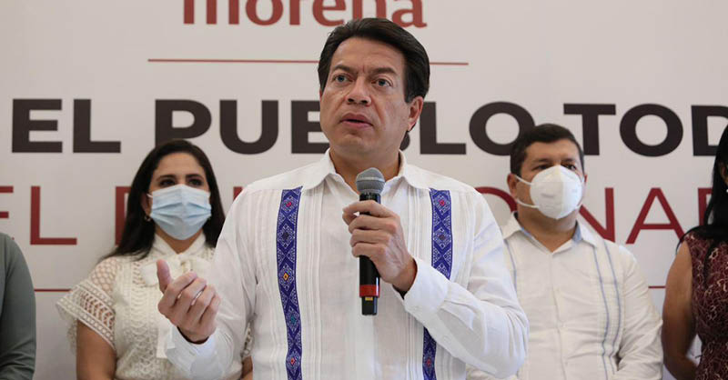 "Mario Delgado asegura que Porfirio Muñoz Ledo busca dar ""golpe de estado"" a Morena y convertirlo en oposición a AMLO"