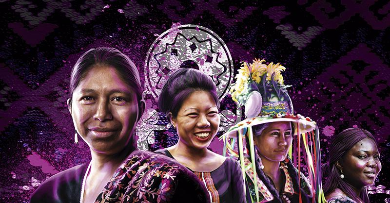 Teresa Zapeta y Tarcila Rivera presentó el Estudio Global sobre la Situación de las Mujeres y Niñas Indígenas