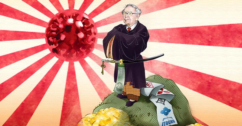 Warren Buffett abrió la cartera para invertir en Japón