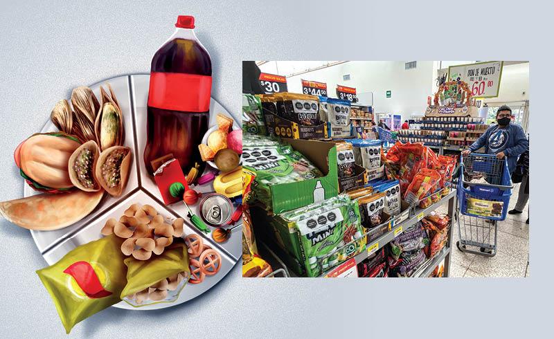 La mayoría de los alimentos procesados están con el etiquetado frontal