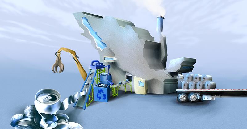 El reciclaje de aluminio es un factor clave para el crecimiento de esta industria en México
