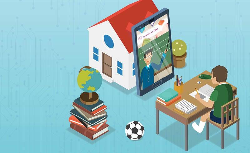 psicólogos, diseñadores y pedagogos comparten algunos consejos para que los padres de familia puedan adaptar un espacio para las clases en casa