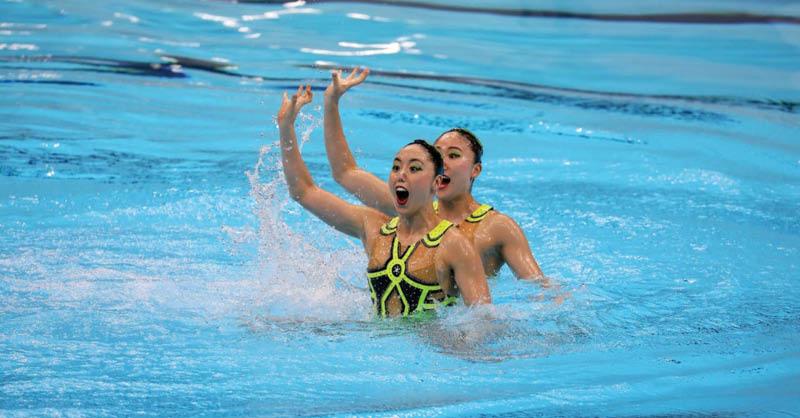 El Comité Organizador de los Juegos Olímpicos de Tokio 2020 inauguró este fin de semana el Centro Acuático de Tokio
