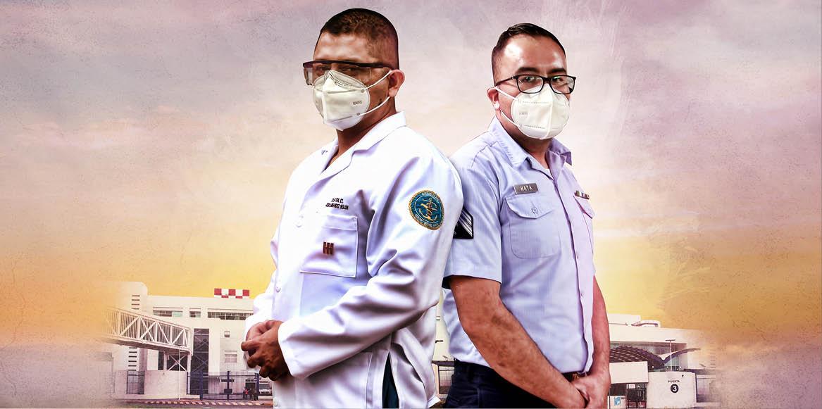 Como parte del Plan Marina COVID, el Gobierno de México habilitó el Centro Médico Naval