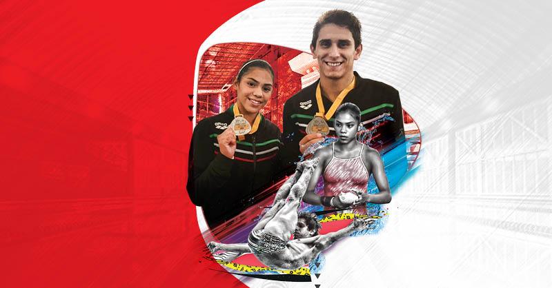 Diego Balleza ha logrado, junto con María José Sánchez, conseguir medallas para México en los clavados mixtos