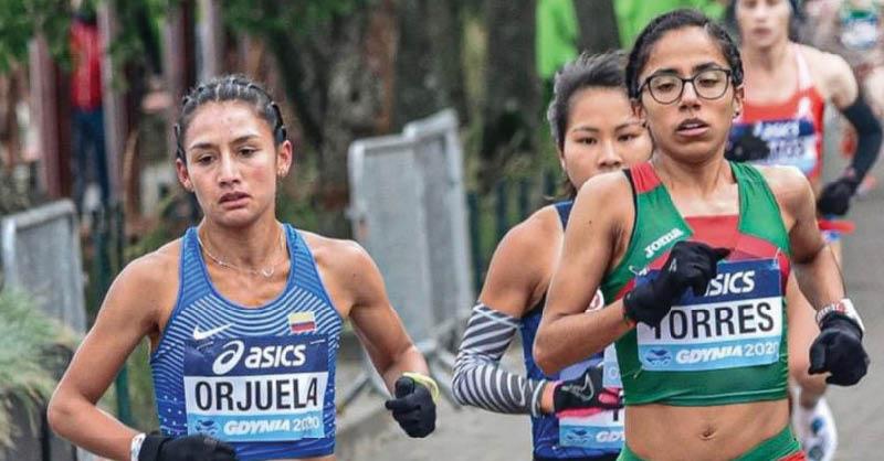 La atleta Daniela Torres se mostró satisfecha con los resultados