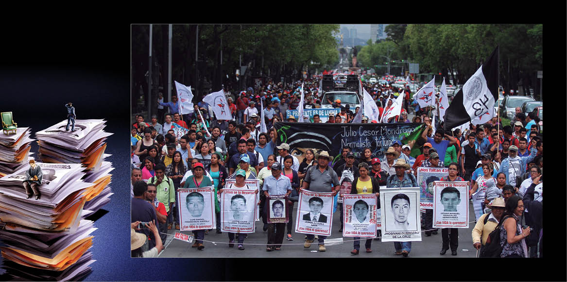 """Si los gobiernos quieren acabar con la problemática de las desapariciones forzadas en México tienen """"que pisar muchos callos"""""""