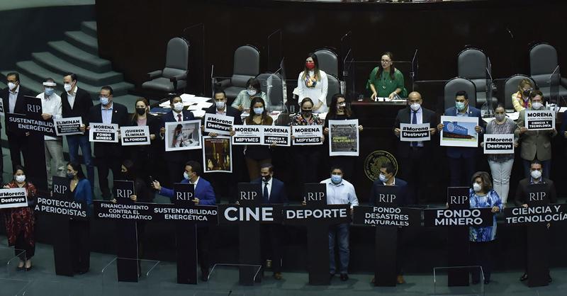 Partidos opositores y aliados de Morena detuvieron la aprobación de la iniciativa para desaparecer 109 fideicomisos