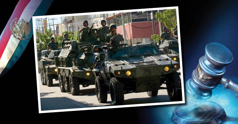 La lucha por evitar que se utilicen a las Fuerzas Armadas en tareas de seguridad pública no cesa