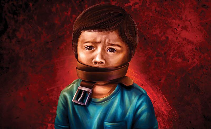 La violencia física o psicológica como parte de la educación de los menores es un problema generalizado