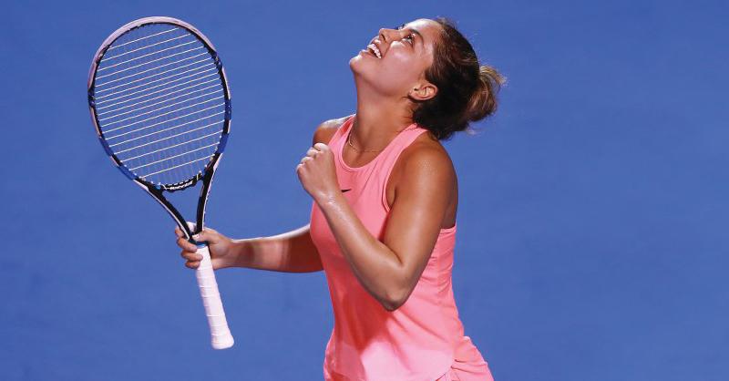 La FMT calificó a Renata Zarazúa como la tenista mexicana del momento