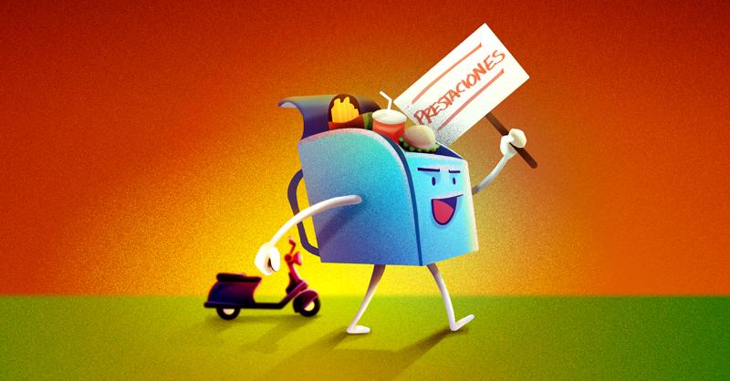 Los repartidores de plataformas de entrega de comida a domicilio realizarán una huelga