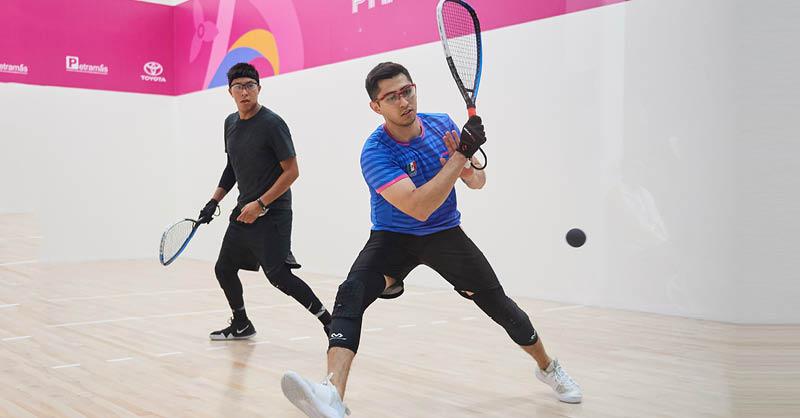 Multimedallista panamericano y campeón mundial en raquetbol, Rodrigo Montoya