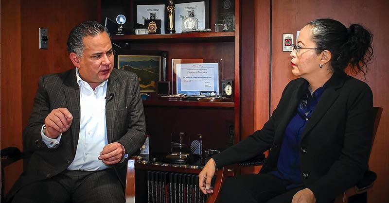 Santiago Nieto, uno de los hombres más fuertes en el Gabinete federal