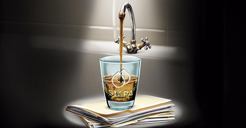 SIAPA no ha emprendido ninguna pesquisa por el agua turbia en Guadalajara